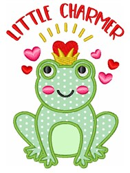 Little Charmer embroidery design