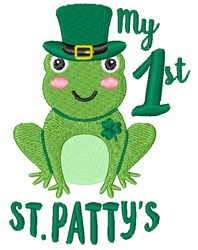 My 1st St. Pattys embroidery design