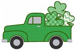 Irish Truck embroidery design