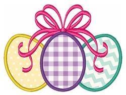Easter Eggs Applique embroidery design