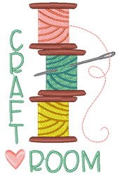 Craft Room embroidery design
