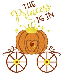 The Princess Is In embroidery design