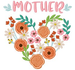 Mother Flowers embroidery design