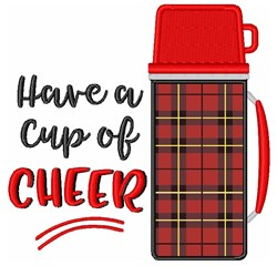 Cup Of Cheer embroidery design