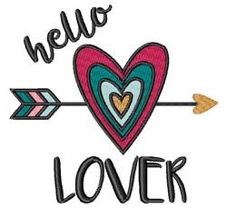 Hello Lover embroidery design