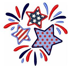 American Stars embroidery design
