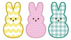 Easter Bunny   Applique embroidery design