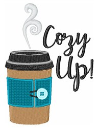 Cozy Up embroidery design