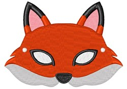 Fox Mask embroidery design