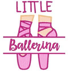 Little Ballerina embroidery design