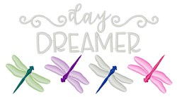 Day Dreamer embroidery design