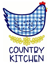 Country Kitchen embroidery design