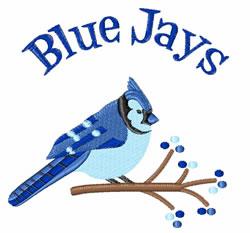Blue Jays embroidery design