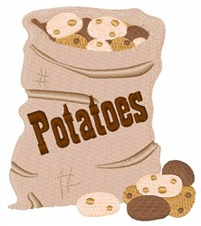 Potato Sack embroidery design