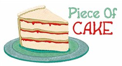 Piece Of Cake embroidery design
