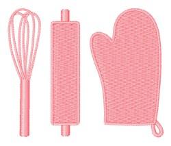 Kitchen Gadgets embroidery design