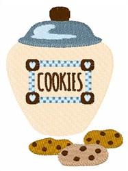 Jar Of Cookies embroidery design