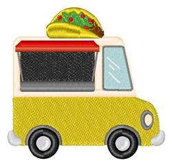 Taco Truck embroidery design