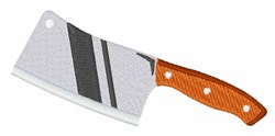 Butcher Knife embroidery design