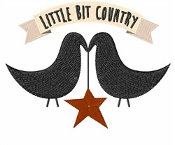 Little Bit Country embroidery design