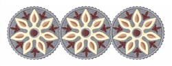 Round Border embroidery design