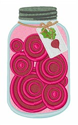 Pickled Beets embroidery design