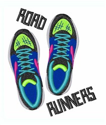 Road Runners embroidery design