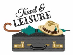 Travel & Leisure embroidery design
