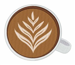 Latte Coffee   embroidery design