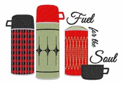 Fuel For Soul embroidery design
