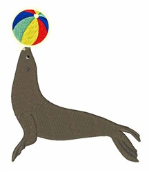 Seal & Ball embroidery design