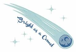 Bright Comet embroidery design