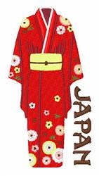 Japan Kimono embroidery design