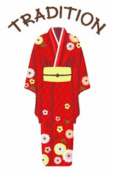 Japan Tradition embroidery design