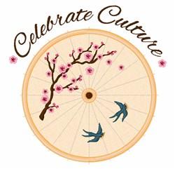 Celebrate Culture embroidery design