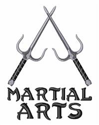Martial Arts embroidery design