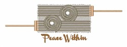 Peace Within embroidery design