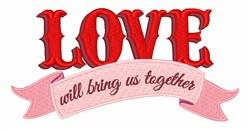 Bring Us Together embroidery design