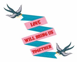 Love Together embroidery design