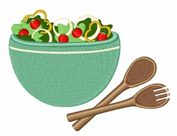 Salad Bowl embroidery design