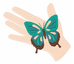 Butterfly Hand  embroidery design