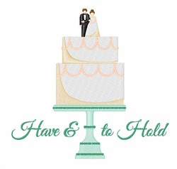 Have & To Hold embroidery design