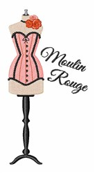 Moulin Rouge embroidery design