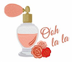 Perfume Ooh La La embroidery design
