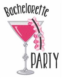 Bachelorette Party embroidery design