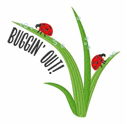 Buggin Out embroidery design