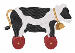 Cow Toy embroidery design