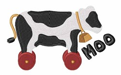 Moo Cow embroidery design