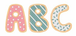 Baby ABC embroidery design