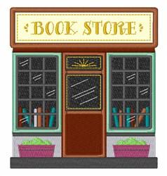 Book Store embroidery design